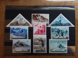 SAN MARINO - Propaganda Sportiva 1° Emissione 1952 - Nn. 391/98 + A11 - Nuovi ** + Spese Postali - Nuovi