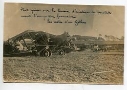 AVIATION NEUSTADT 026- Régim 12 Em RAB  PHOTOGRAPHIE 9,2 X 14,2 Restes  Gotha Sur Terrain  Avant Occupation Francaise - Sin Clasificación