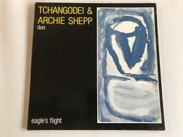 TCHANGODEI & ARCHIE SHEPP - Eaglés Flight - MAXI 45t - 1985 - FRENCH Press - Jazz