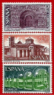 España. Spain. 1970. Monasterios Abadías Monasteries Abbeys. Santa Maria De Ripoll - 1971-80 Nuovi
