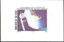 Mexico 1985 Morelos I Satellite MNH 2110.1506 Teleecommunication - America Del Nord