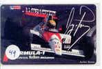 Télécarte AYRTON SENNA (49) Formula 1 Voiture Auto Car Racing Phonecard Japon - Automobili