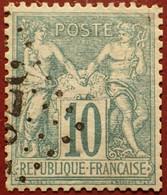 R1311/1093 - SAGE TYPE I N°65 LUXE ➤ Oblitération Du Jour De L'an : Losange Gros Chiffres - 1876-1878 Sage (Typ I)