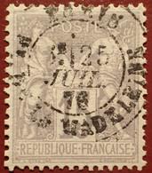 R1311/1096 - SAGE TYPE I N°66 - LUXE - CàD De PARIS Place De LA MADELEINE - 1876-1878 Sage (Typ I)