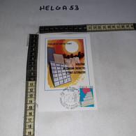 FB11211 ROMA 1980 TIMBRO ANNULLO PROBLEMI DEL NOSTRO TEMPO GIORNO DI EMISSIONE - 1971-80: Storia Postale