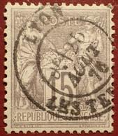R1311/1097 - SAGE TYPE I N°66 - LUXE ➤ BEAU CàD De LYON LES TERREAUX Du 25 AOÛT 1876 - 1876-1878 Sage (Typ I)