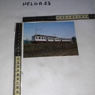 FB11215 AREZZO 1987 TIMBRO ANNULLO CENTENARIO FERROVIA SINALUNGA STIA ELETTROMOTRICE EBIZ - 1981-90: Storia Postale