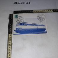FB11219 PORTOGRUARO 1980 TIMBRO ANNULLO 1'' MOSTRA FERROVIARIA DI FILATELIA LOCOMOTORE E 656 - 1971-80: Storia Postale
