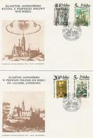 Poland FDC.2890-93 #2: Treasures Of Jasna Gora - FDC