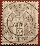 R1311/1099 - SAGE TYPE I N°66 ➤ BEAU CàD De PARIS Rue D'ENGHIEN Du 18 JANVIER 1877 - 1876-1878 Sage (Typ I)