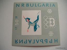 Bulgaria 1964 - Winter Olympic Games - Innsbruck 1964, Austria  MNH - Ungebraucht