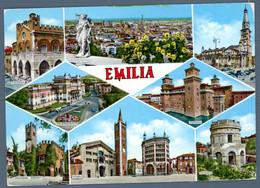 °°° Cartolina - Emilia Vedute Viaggiata (l) °°° - Reggio Emilia