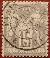 R1311/1100 - SAGE TYPE I N°66 ➤ BEAU CàD De PARIS Rue Du LUXEMBOURG Du 25 JUIN 1876 - 1876-1878 Sage (Typ I)