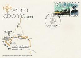 Poland FDC.2901: Defensive War (III) - FDC