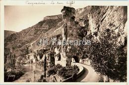 Pougnadoire - La Tour Eiffel - Gorges Du Tarn - 5 - Old Postcard - France - Used - Non Classificati