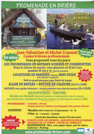 Flyer °_ Tourisme-44-Promenade En Brière-Balade En Bateau.etc-15x21 - Advertising