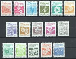 M221 1987 NICARAGUA FLORA FLOWERS 1SET MNH - Altri