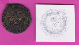 C203 / FDC - SEAL - 15-19.XI.  1980 - III Essen Germany International Postage Stamp Fair , Bulgaria Bulgarie Bulgarien - Esposizioni Filateliche