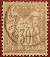 R1311/1105 - SAGE TYPE I N°69 ➤➤➤ CàD De SMYRNE (TURQUIE) - 1876-1878 Sage (Typ I)