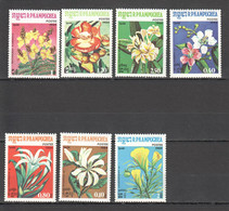 M222 1984 R.P.KAMPUCHEA CAMBODIA FLORA PLANTS FLOWERS 1SET MNH - Altri