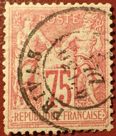 R1311/1106 - SAGE TYPE I N°71 - LUXE ➤ CàD De PRIVAS (Ardèche) - 1876-1878 Sage (Typ I)