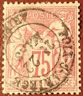 R1311/1107 - SAGE TYPE I N°71 - LUXE ➤ CàD De FOIX-SUR-ARIEGE (Ariège) - 1876-1878 Sage (Typ I)