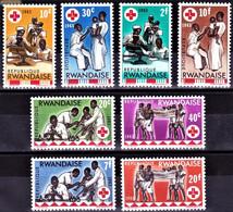 Red Cross / Croix Rouge - Rwanda 1963 / Serie Complete - MNH** - Croce Rossa