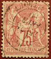 R1311/1108 - SAGE TYPE I N°71 ➤ CàD De PARIS Rue TAITBOUT Du 25 FEVRIER 1880 - 1876-1878 Sage (Typ I)