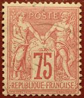 R1311/1109 - SAGE TYPE I N°71 CàD - 1876-1878 Sage (Typ I)