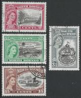 North Borneo. 1956 75th Anniv Of  British North Borneo. Used Complete Set. SG 387-390 - Bornéo Du Nord (...-1963)