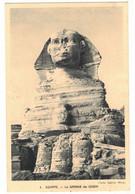 AFRIQUE EGYPTE EGYPT : LE SPHINX DE GISEH - CLICHET SABINE WEISS N° 1 - Gizeh
