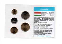 HONGARIJE MUNTSET DIVERSE DENOMINATIES - Ungarn