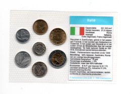 ITALIE MUNTSET DIVERSE DENOMINATIES - Set Fior Di Conio