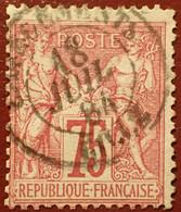 """R1311/1111 - SAGE TYPE I N°71 - CàD """" LILLE CHARGEMENTS """" Du 18 JUILLET 1884 - 1876-1878 Sage (Typ I)"""