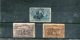 Etats-Unis 1893 Yt 81-82 85 4e Centenaire De La Découverte De L'Amérique - Used Stamps