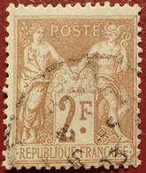R1311/1112 - SAGE TYPE I N°105 - CàD - Coite (2020) : 55,00 € - 1876-1878 Sage (Typ I)