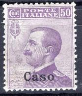 Egeo - Caso, 50 Centesimi ** Ben Centrato - Egeo (Caso)
