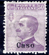 Egeo - Caso, 50 Centesimi * - Egeo (Caso)