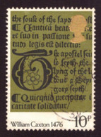 Grande-Bretagne  1976 -  Yt N°804 The 500th Anniversary Of Bookmaking  - TB - - Used Stamps