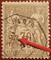 """R1311/1113 - SAGE TYPE I N°69 - LUXE ➤➤➤ CàD De PARIS """" E3 """" (Levée Exceptionnelle) - 1876-1878 Sage (Typ I)"""