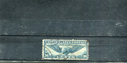 Etats-Unis 1939 Yt 25 1er Vol Transatlantique New York-Marseille - 1a. 1918-1940 Used