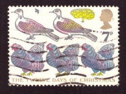 Grande-Bretagne  1977 -  Yt N°840  Christmas Stamp  - TB - - Used Stamps