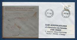 ✈️ Norvège - Premier Vol - Paris - Stavanger - Air France - Ouverture Escale - 1988 ✈️ - Aerei