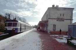 Chauffailles 71 - CPM -  SNCF - La Gare - 4.742 - Other Municipalities