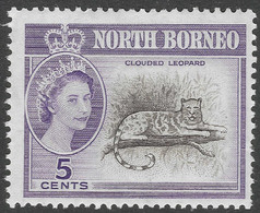 North Borneo. 1961 QEII. 5c MH SG 393 - North Borneo (...-1963)