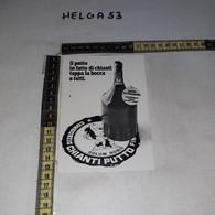 FB11237 FIRENZE 1972 TIMBRO ANNULLO RASSEGNA GASTRONOMICA PRODOTTI TIPICI CONSORZIO CHIANTI PUTTO - 1971-80: Storia Postale
