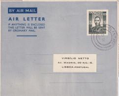 RODHESIE DU SUD 1954    ENTIER POSTAL/GANZSACHE/POSTAL STATIONERY PLI AERIEN - Southern Rhodesia (...-1964)