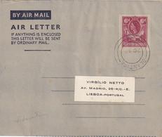 RODHESIE DU SUD     ENTIER POSTAL/GANZSACHE/POSTAL STATIONERY PLI AERIEN DE  BLANTYRE - Southern Rhodesia (...-1964)