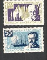 ROMANIA.....1958:Michel1731-2mnh** - Nuovi