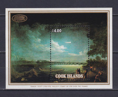 COOK ISLANDS 1986, Mi# Bl 166, Nature, Art, MNH - Cookeilanden